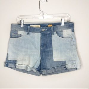 Anthro | Pilcro and the Letterpress Patch Shorts